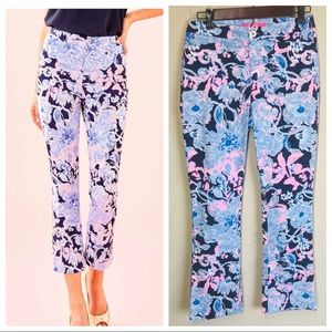 NWT! Lilly Pulitzer Kelly High Rise Crop Flare
